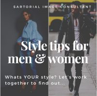 Style tips for men and women from Justine - Image Consultant in London and South East