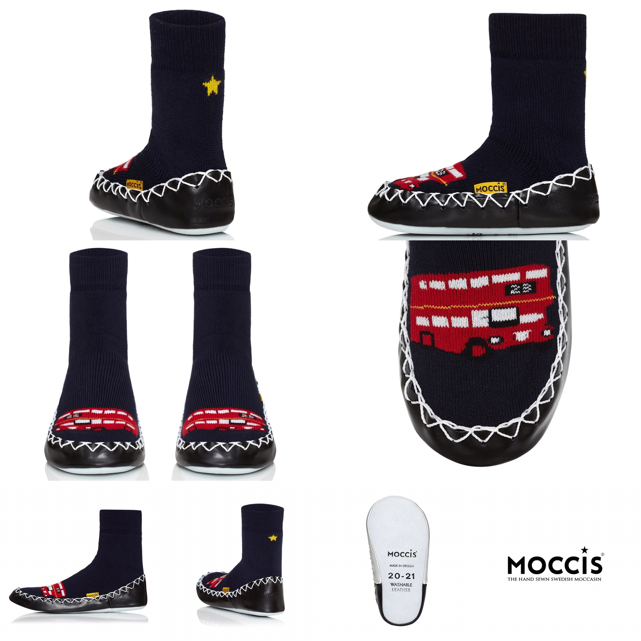 Moccis slipper cocks for children and adults - London Calling - Sartorial Boutique and Gifts