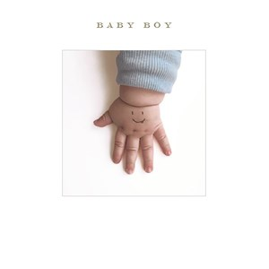 Susan O'Hanlon Baby Boy card - Sartorial Boutique and Gifts