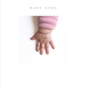 Susan O'Hanlon - Baby Girl Card - Sartorial Boutique and Gifts