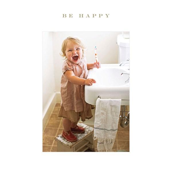 Susan O'Hanlon - Be Happy card - Sartorial Boutique and Gifts