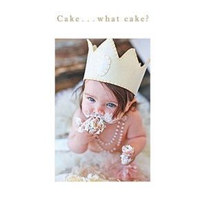 Susan O'Hanlon Card - Cake.... what cake - Sartorial Boutique and Gifts