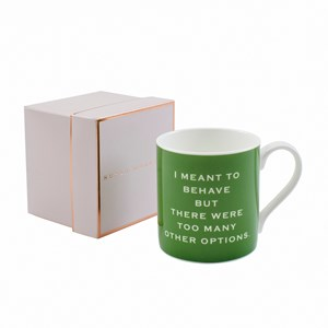 Susan O'Hanlon mug- I meant to behave - Sartorial Boutique and Gifts
