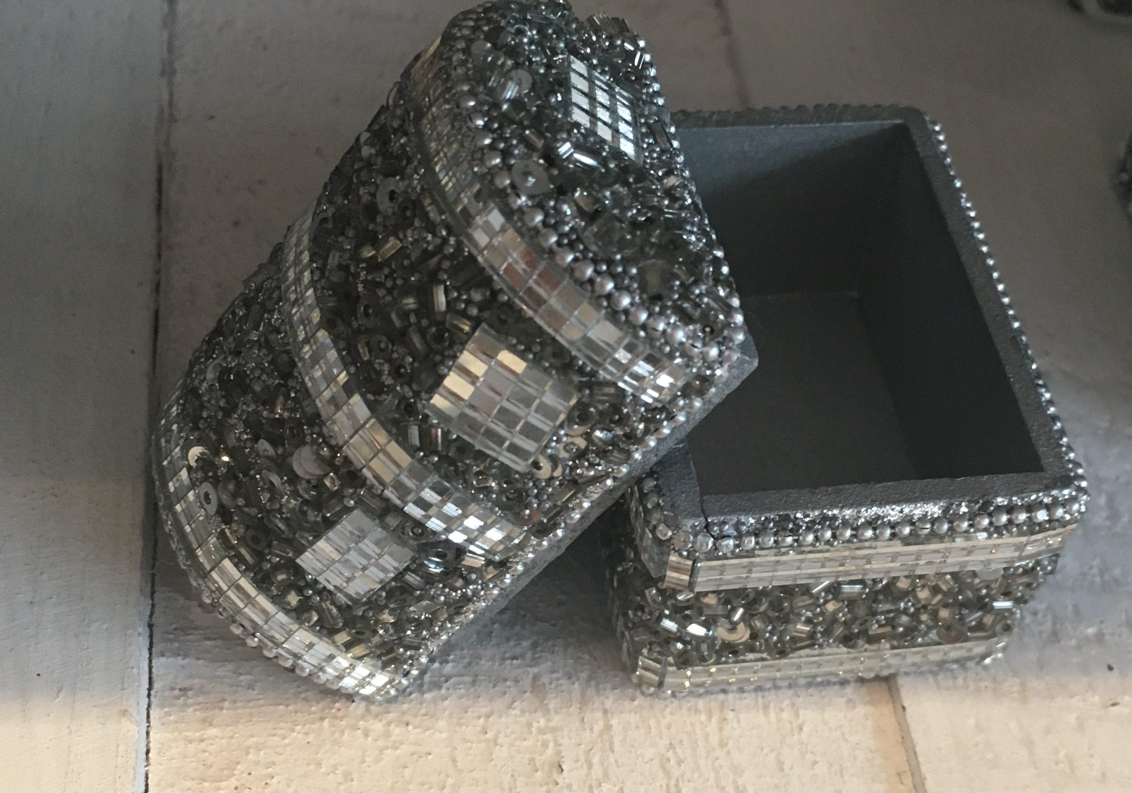 Beaded trinket box - Sartorial Boutique and Gifts