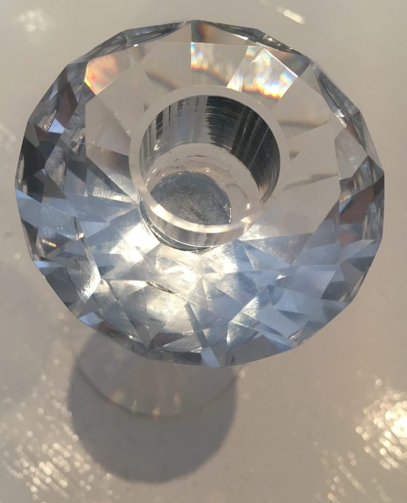 Swarovski inspired crystal and glass candle sticks - Sartorial Boutique and Gifts