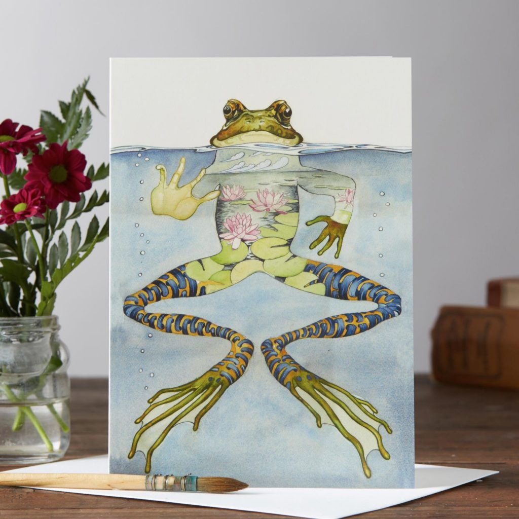 Daniel Mackie Collection cards - Frog - Sartorial Boutique and Gifts