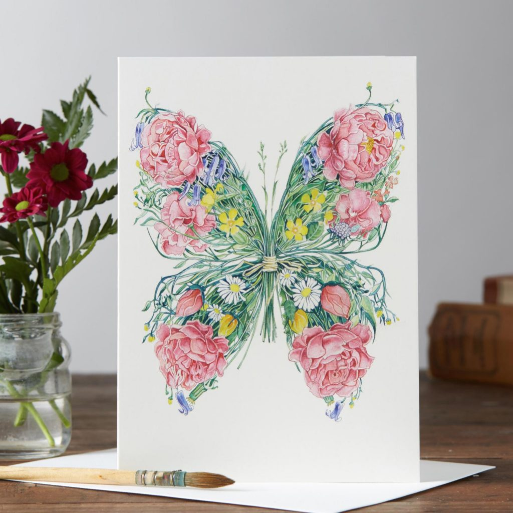 Daniel Mackie Collection cards - Butterfly - Sartorial Boutique and Gifts