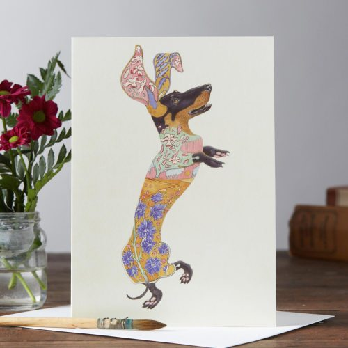 Daniel Mackie Collection cards - Dachshund Dog - Sartorial Boutique and Gifts