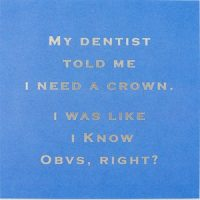 Susan O'Hanlon card - I need a crown... obvs right - Sartorial Boutique and Gifts