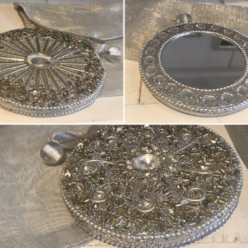 Beaded handbag mirrors - Sartorial Boutique and Gifts