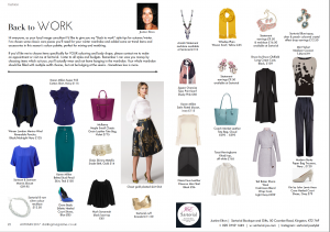 Darling Magazine - Back to work style tips Sept 2017