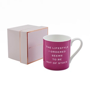 Susan O'Hanlon mug - The lifestyle I ordered...- Sartorial Boutique and Gifts