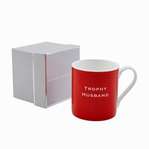 Susan O'Hanlon mug - Trophy Husband - Sartorial Boutique and Gifts