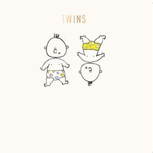 Susan O'Hanlon card - Twins - Sartorial Boutique and Gifts