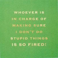 Susan O'Hanlon card - whoever is in charge... so fired - Sartorial Boutique and Gifts