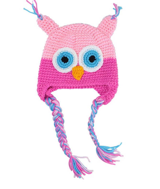 Baby / Toddler owl hats