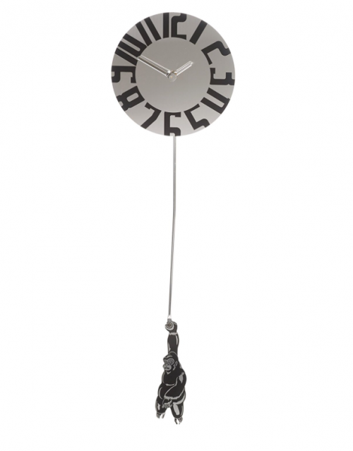 Gorrilla pendulum novelty Clock - sartorial boutique and gifts