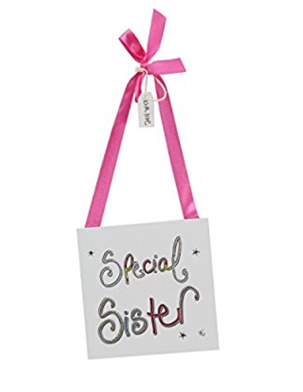 Special Sister hanging plaque