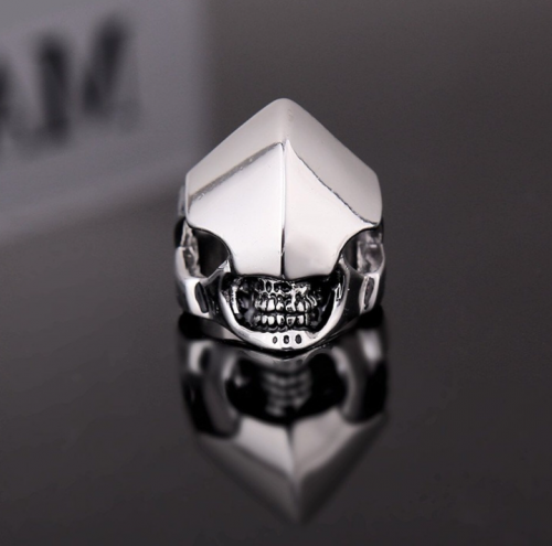 Skull Helmet Ring