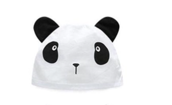 Baby hat - 3 - 6 months (Panda)