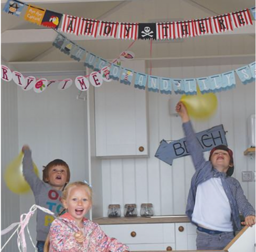 Personalised Owl or Pirate Bunting