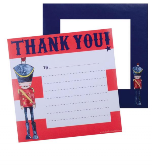 Soldier Thank Cards
