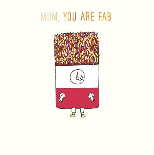Susan O'Hanlon card - Mum - Fab Lolly
