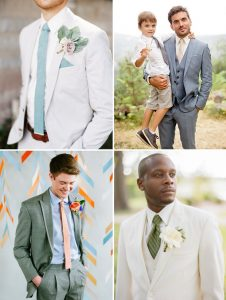 Usher & Best Man inspiration