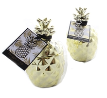 Gold Pineapple scented candle