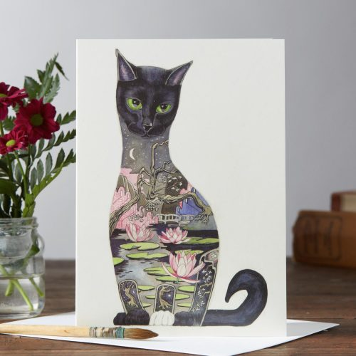 Daniel Mackie collection black cat card