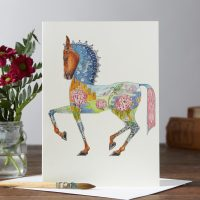 Daniel Mackie collection horse card