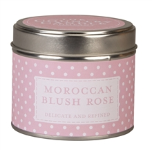 Moroccan Blush Rose scented candle