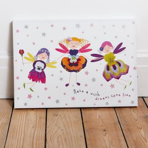 Petal Fairy LED canvas