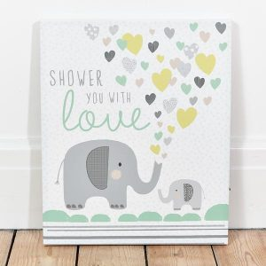 Shower You With Love LED canvas