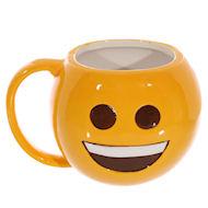 emoji mug - big smile