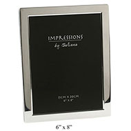 Silver plated picture frame 6 x 8 inch