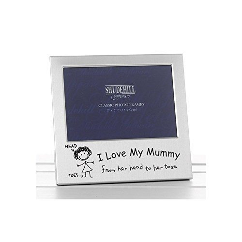 I love my mummy photo frame 14.8 x 14.8 x 2.4 cm