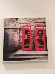 London Telephone boxes - canvas painting
