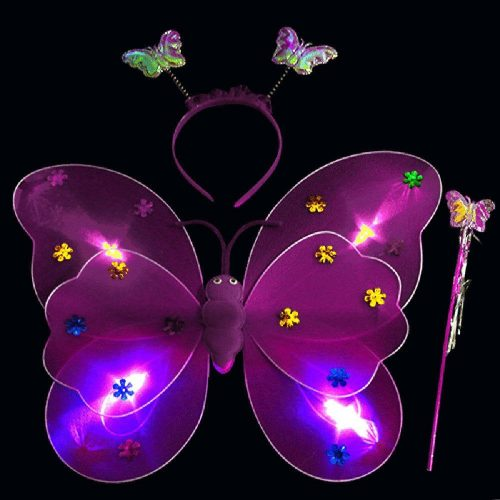 LED flashing wings