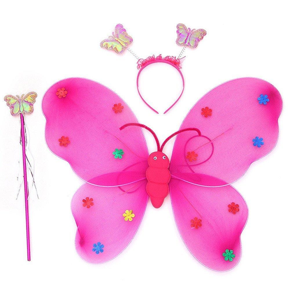LED flashing wings - pink