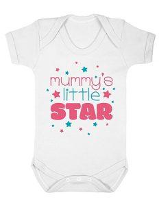 mummy's little star baby grow 0-3 months