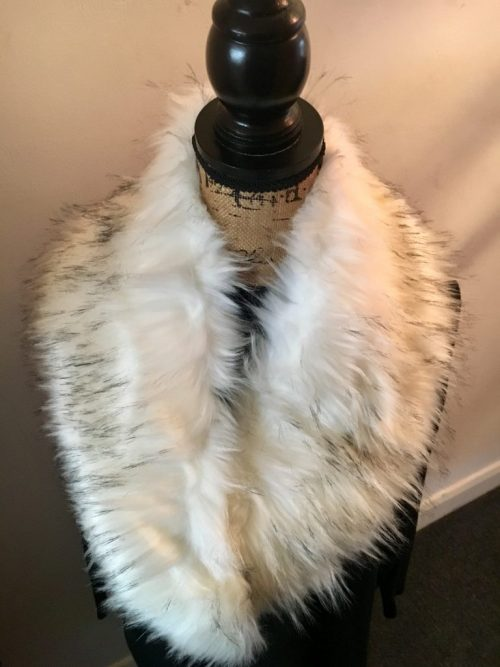 Fur Collar - White - Sartorial Boutique and Gifts