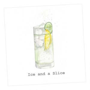 Ice and a Slice card - Sartorial Boutique and Gifts