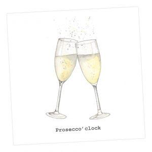 Prosecco O'Clock card - Sartorial Boutique and Gifts