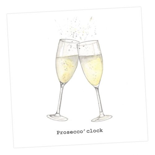 Prosecco O'Clock card - Sartorial Boutique and Gifts