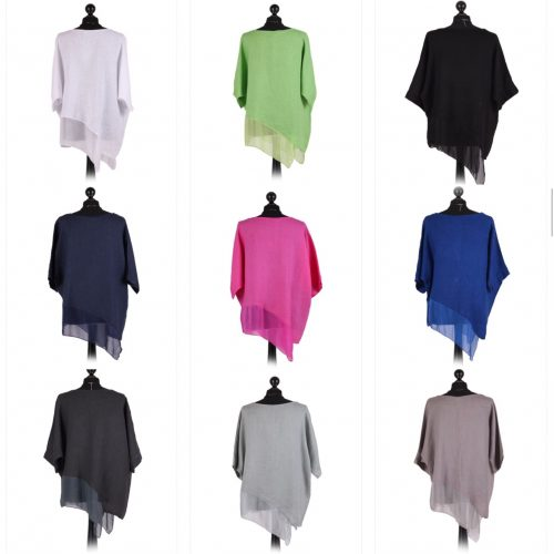 Linen and Silk asymmetrical top - Sartorial Boutique and Gifts