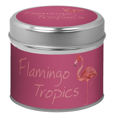 Flamingo Tropics candle - Sartorial Boutique and Gifts