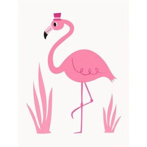 Flamingo card - Sartorial Boutique and Gifts