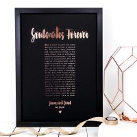 Coulson Macleod A3 bespoke prints - Soulmates forever - Sartorial Boutique and Gifts