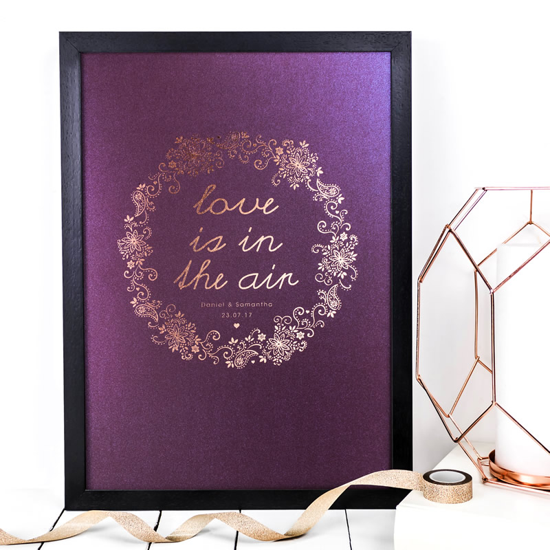 Coulson Macleod bespoke A3 prints - Love is in the air - Sartorial Boutique and Gifts